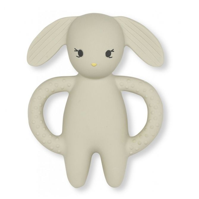 Teeth soother Rabbit beige - Konges Slojd
