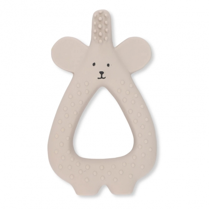 Konges Slojd Toothbrush Bear Moon Beam beige