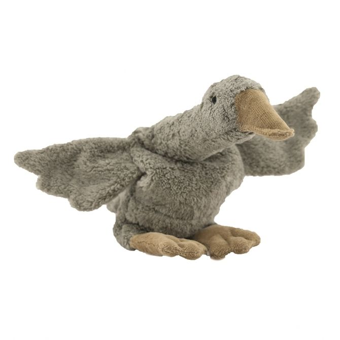 Senger Naturwelt Cuddly animal Goose small grey