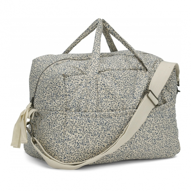 Konges Slojd Quiled Mommy Bag beige / blue