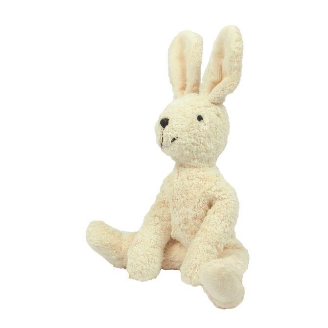 Przytulanka miękki króliczek mały biały - Senger Naturwelt