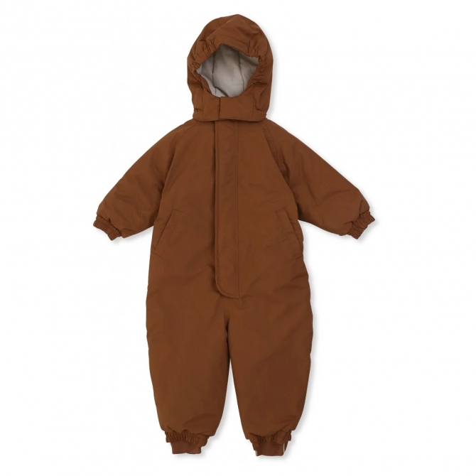 Konges Slojd Nohr Snowsuit Deux brown