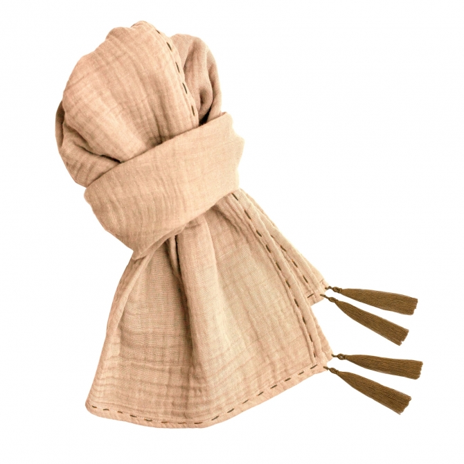 Scarf Kid pale peach - Numero 74