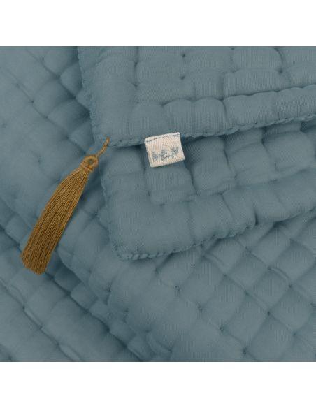Numero 74 Pościel Tatami szaroniebieska