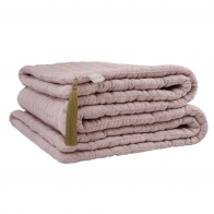 Tatami quilt dusty pink
