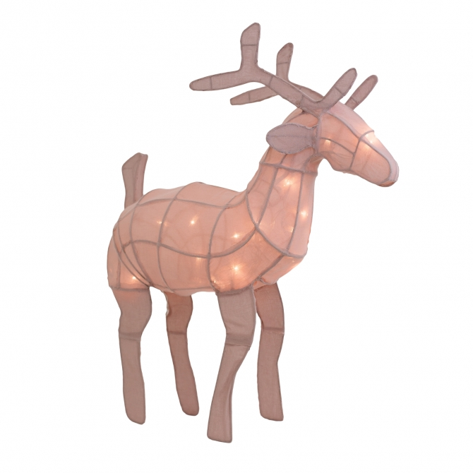 Deer lantern dusty pink - Numero 74