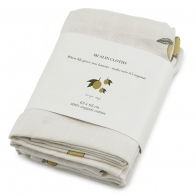 3 pack Muslin Cloth lemon