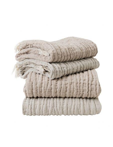 Garbo & Friends Kocyk lniany Mellow Lin Blanket/ Throw M
