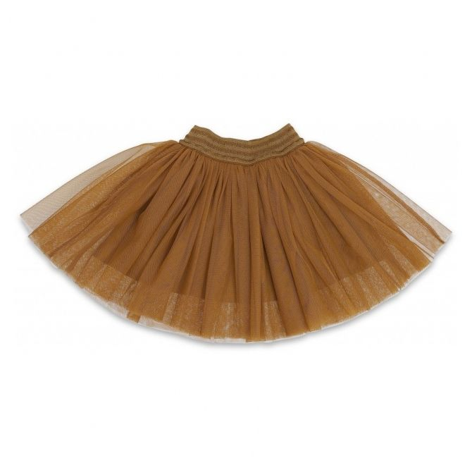 Konges Slojd Skirt Ballerina Deux Dark Honey