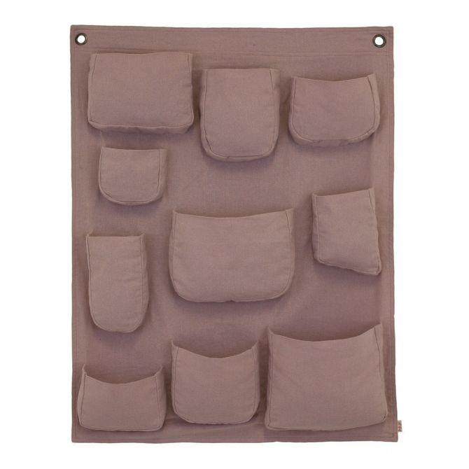 Numero 74 Wall Pocket dusty pink