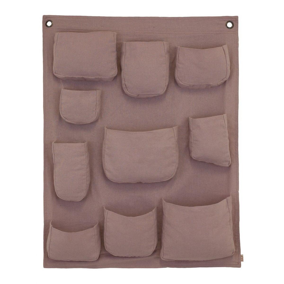 Organizer Wall Pocket zgaszony róż - Numero 74