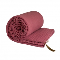 Koc Winter Blanket rose różowy