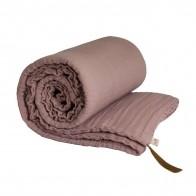 Koc Winter Blanket dusty pink zgaszony róż