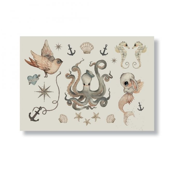 Tatuaże A5 Temporary Tattoos - Mrs. Mighetto