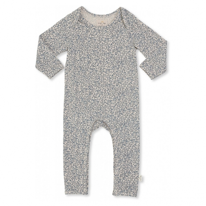 Konges Slojd New born onesie beige blue