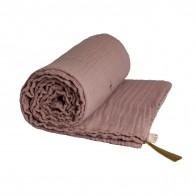 Koc Summer Blanket dusty pink zgaszony róż
