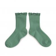 Socks Lili céladon light green