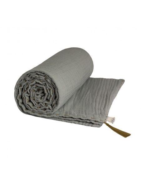 Koc Summer Blanket sliver grey szary - Numero 74