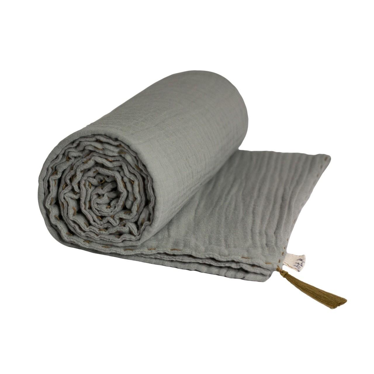 Koc Summer Blanket srebrnoszary
