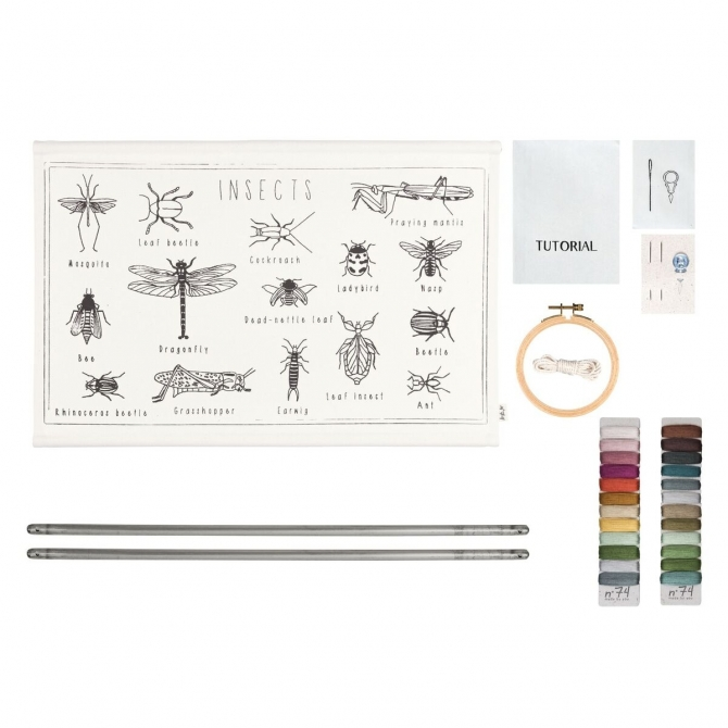 Numero 74 School Poster Kit Insects
