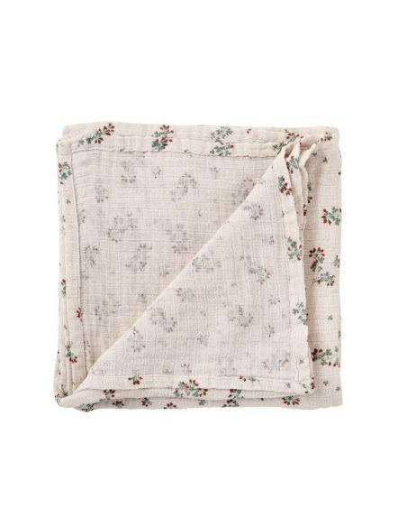 Garbo & Friends Clover Muslin Swaddle Blanket beige