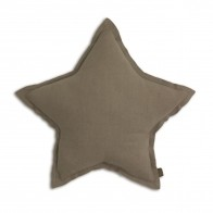 Star cushion beige