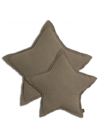Star cushion beige - Numero 74