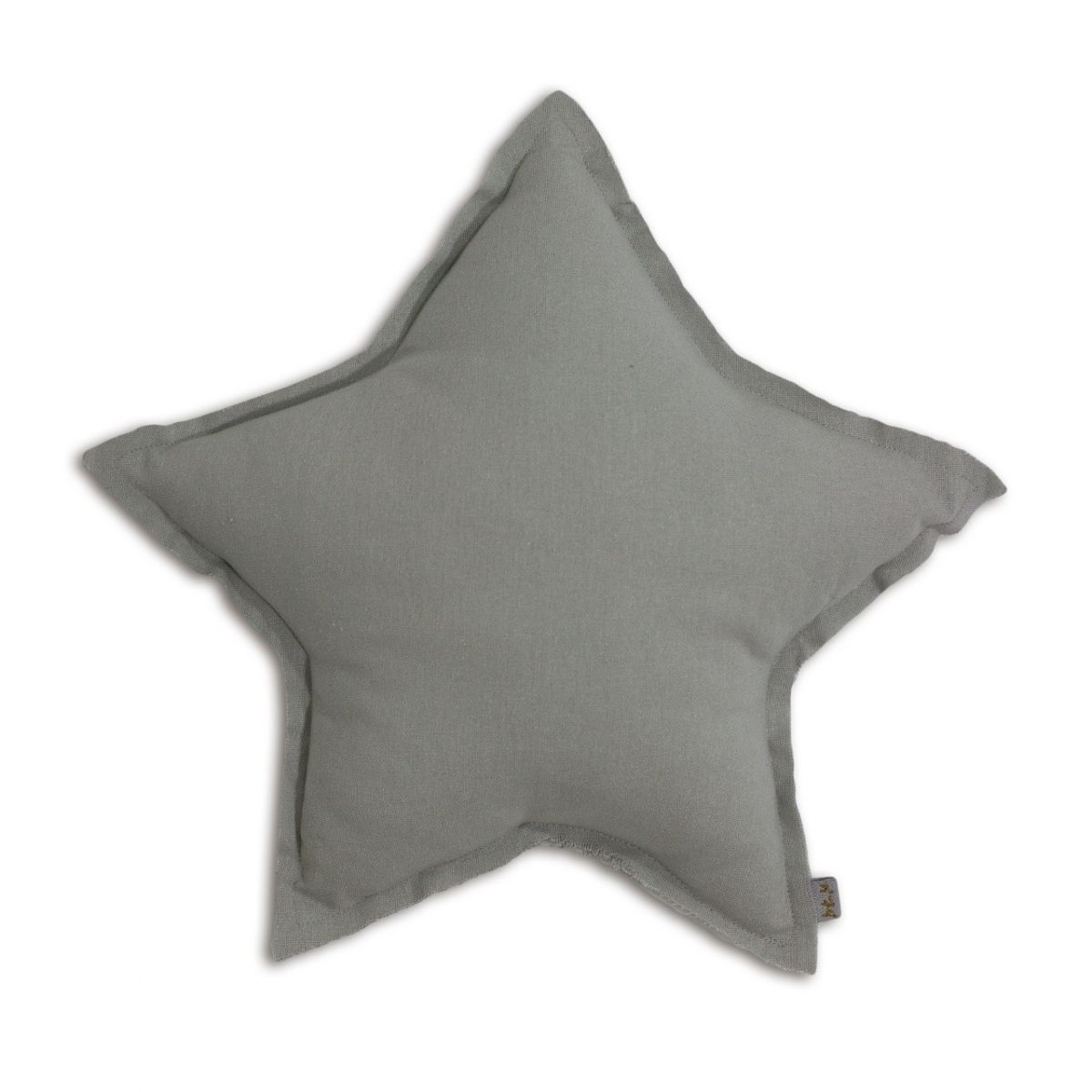 Numero 74 Poduszka gwiazda srebrnoszara