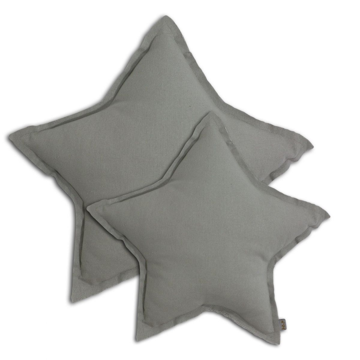Star cushion silver grey - Numero 74