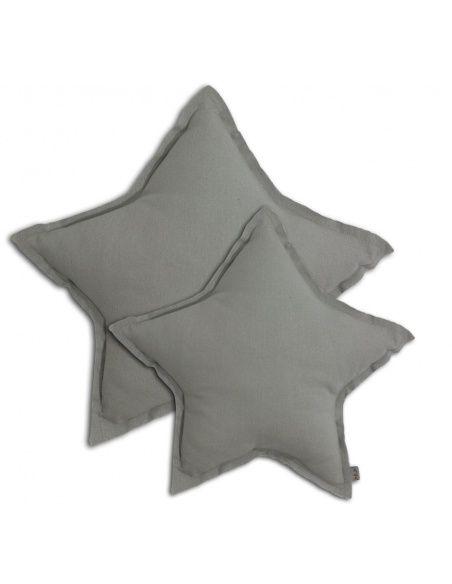 Poduszka gwiazda srebrnoszara - Numero 74