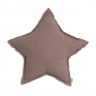 Star cushion dusty pink