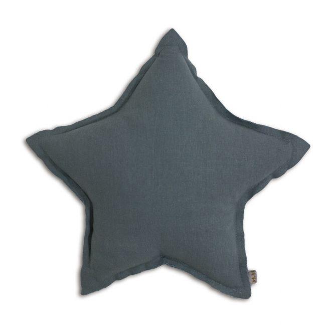 Poduszka gwiazda Star cushion ice blue szaroniebieska - Numero