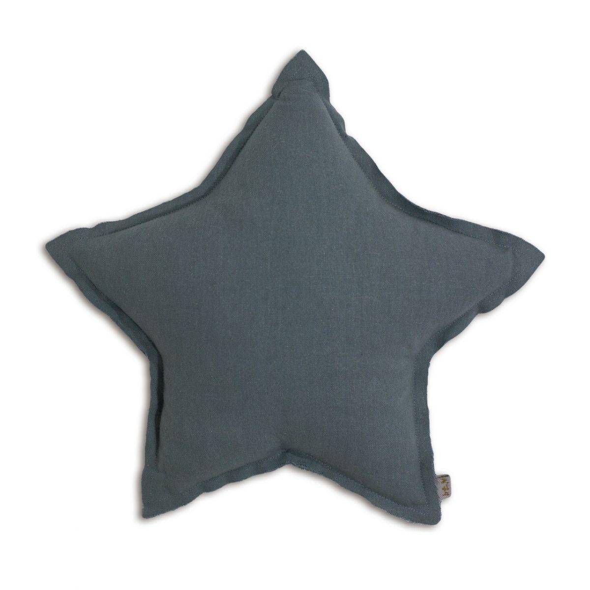 Numero 74 Poduszka gwiazda szaroniebieska