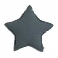 Poduszka gwiazda Star cushion ice blue szaroniebieska