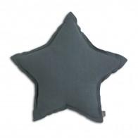 Poduszka gwiazda szaroniebieska