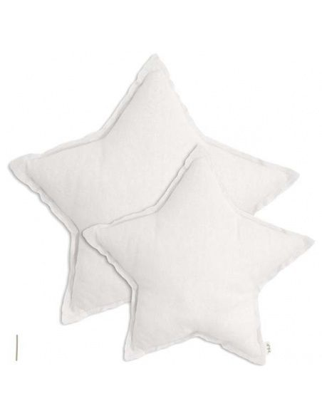Numero 74 Star cushion white