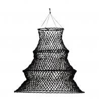 Jute Macrame Lamp Shade Black