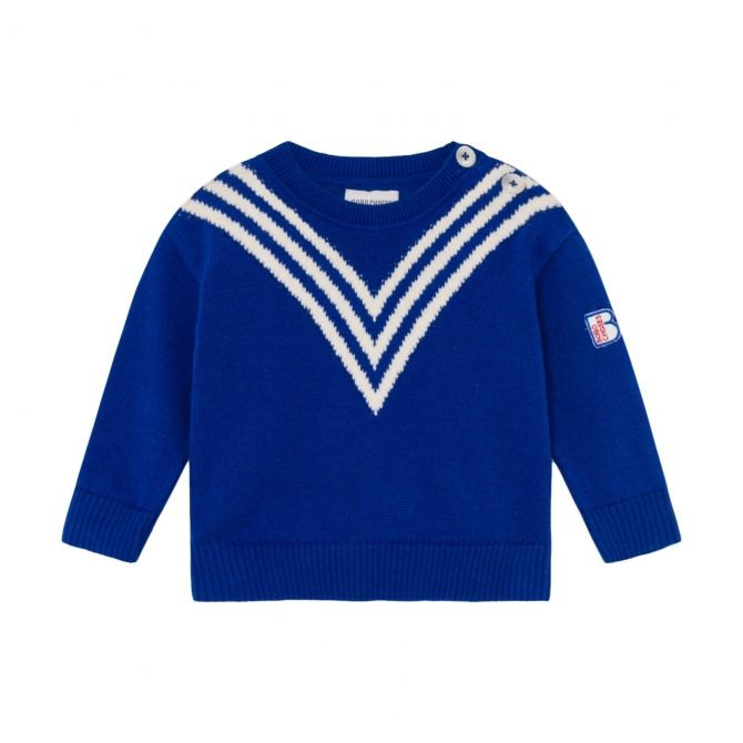 Bobo Choses Three Stripes Knitted Jumper