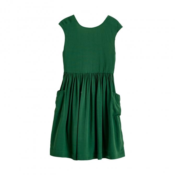 Bellerose Parasol Dress Green