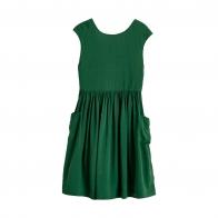 Parasol Dress Green