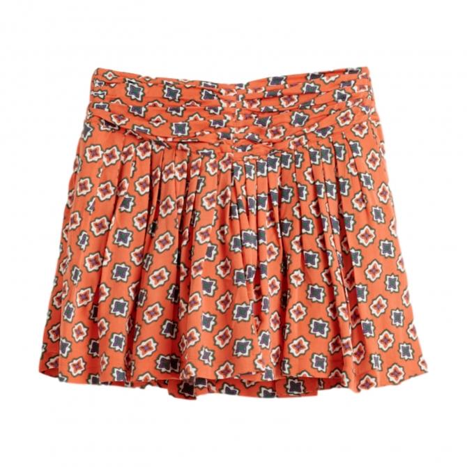 Spódnica Afro pomarańczowa