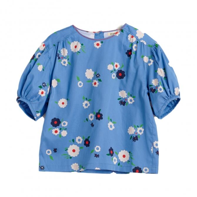 Bellerose Bluzka Abstract niebieska