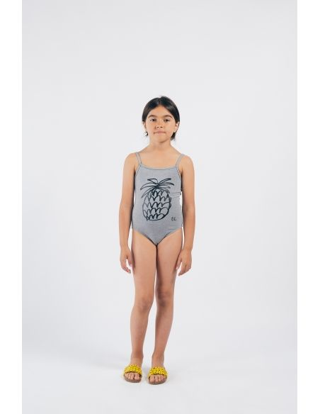 Bobo Choses Pineapple Swimsuit Grey