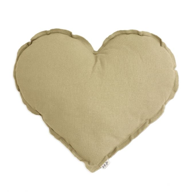 Numero 74 Poduszka serce mellow yellow