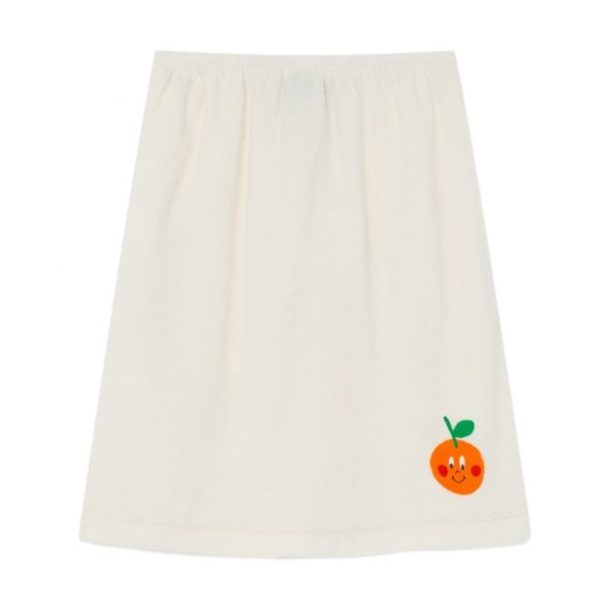 The Animals Observatory Kitten Kids Skirt White