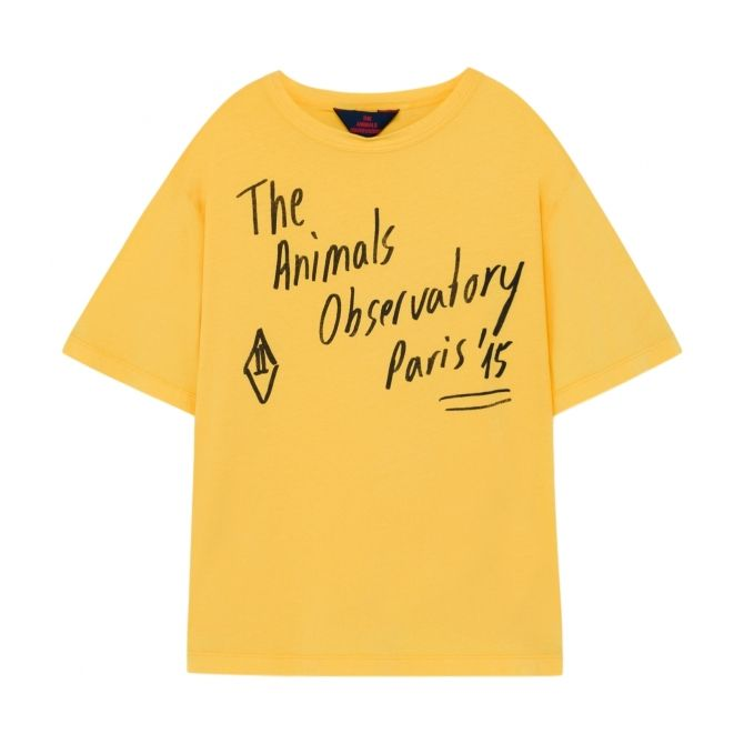 The Animals Observatory Rooster T-shirt Oversize Yellow