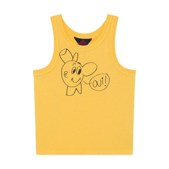 The Animals Observatory Frog Kids T-shirt Yellow