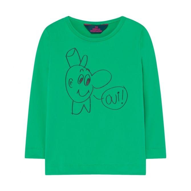 The Animals Observatory Deer Kids T-shirt Green
