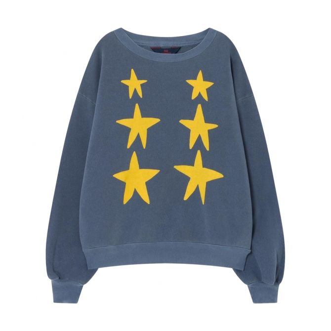 The Animals Observatory Bear Kids Sweatshirt Navy Blue