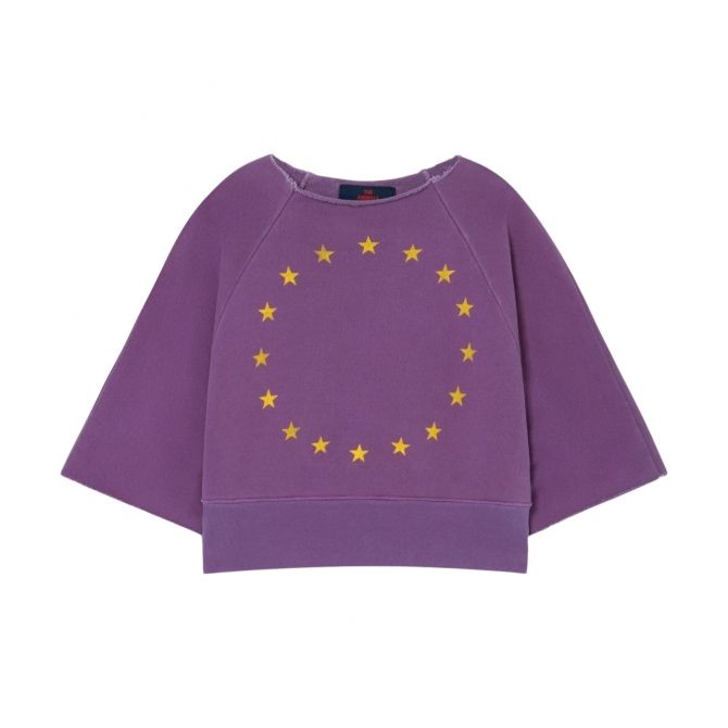 The Animals Observatory Squab Kids Sweatshirt Purple